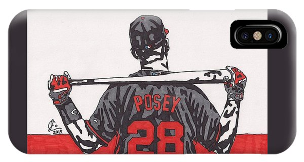 Buster Posey IPhone Case