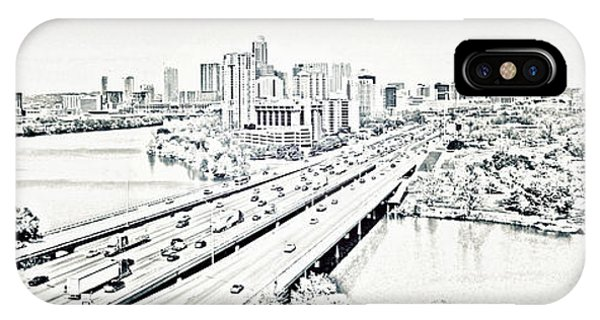 Busy Austin In Stamp IPhone Case