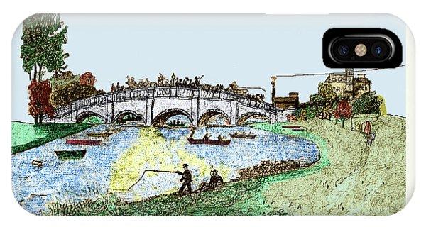 Busy Richmond Bridge IPhone Case