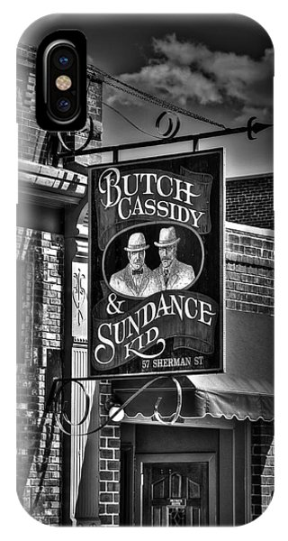 Butch Cassidy And The Sundance Kid IPhone Case