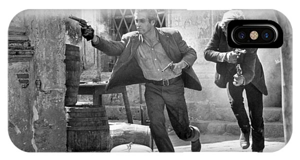 Butch Cassidy And The Sundance Kid - Newman And Redford IPhone Case