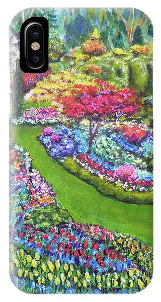 Butchart Gardens IPhone Case