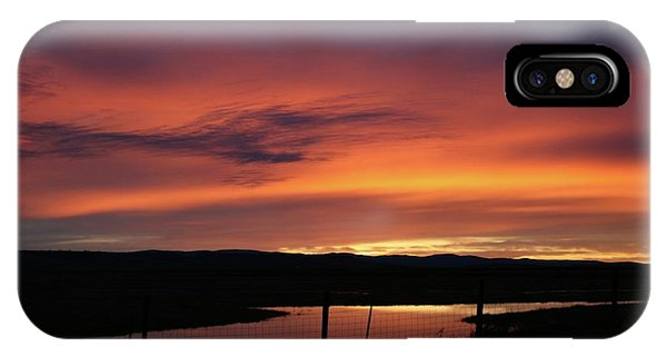 Butte County Sunrise IPhone Case