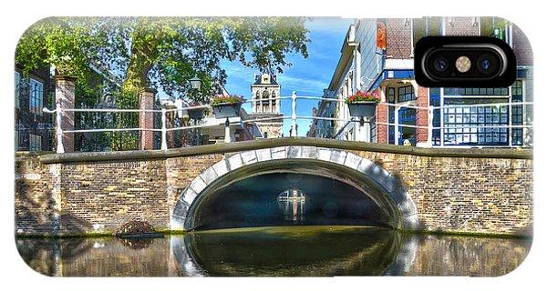 Butter Bridge Delft IPhone Case