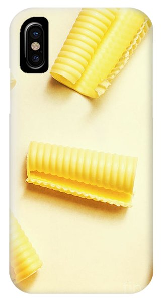 Roll iPhone Case - Butter Curls On White Background by Jorgo Photography - Wall Art Gallery