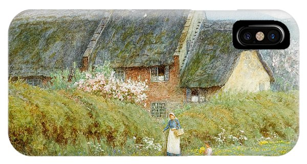 Dorset iPhone Case - Buttercups by Helen Allingham