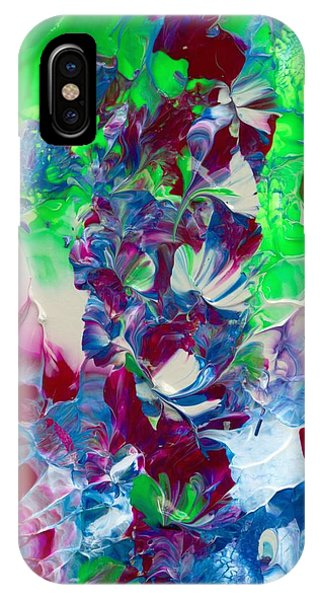 Butterflies, Fairies And Flowers IPhone Case
