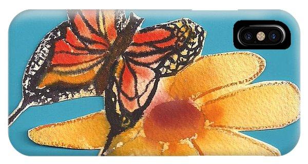 Butterflower IPhone Case