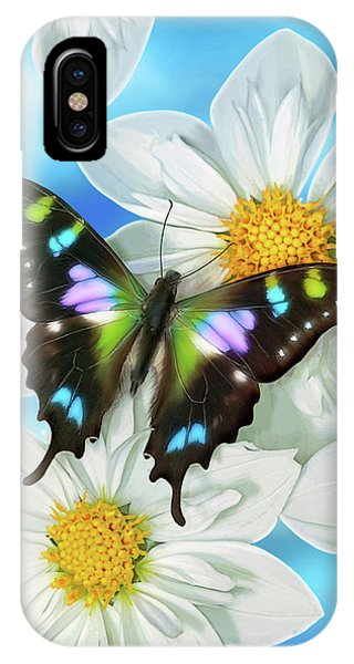 Song iPhone Case - Butterfly 2 by JQ Licensing