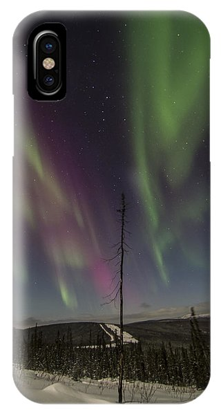 Butterfly Aurora IPhone Case