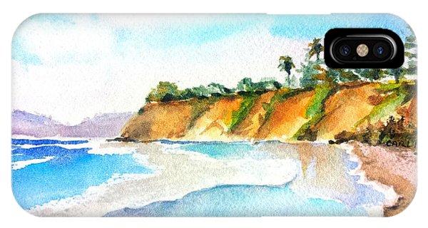 Butterfly Beach Santa Barbara IPhone Case