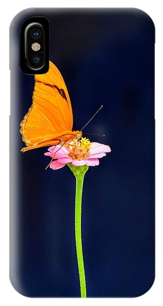 Butterfly Bloom IPhone Case