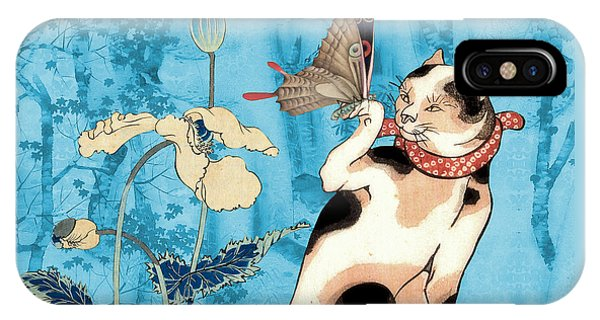 iPhone Case - Butterfly Charmer by Laura Botsford