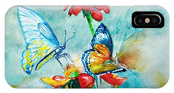 Butterfly Dance IPhone Case