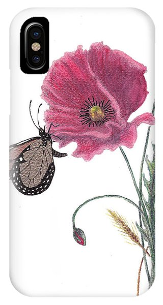 Butterfly Dreaming IPhone Case