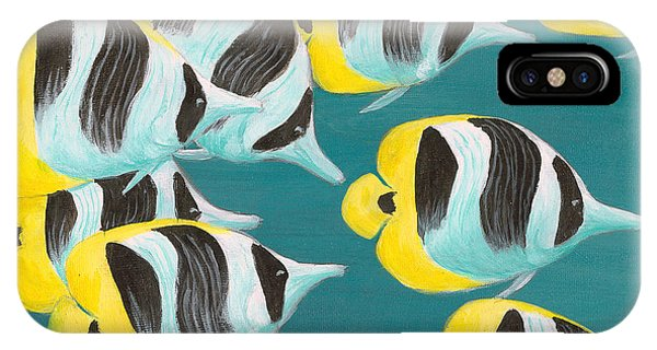 Butterfly Fish IPhone Case