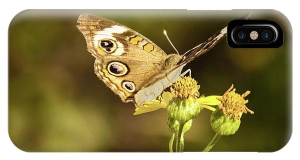 Butterfly In Bokeh IPhone Case