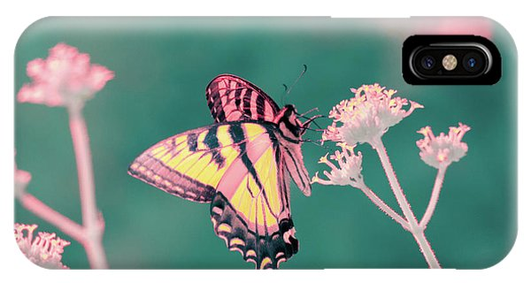 IPhone Case featuring the photograph Butterfly In Infrared by Brian Hale