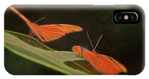 Butterfly Love 1a IPhone Case