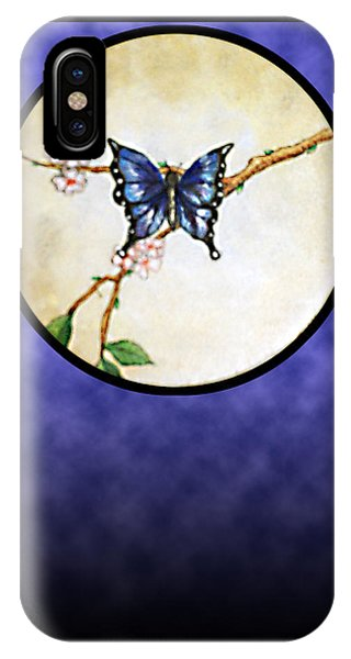 Butterfly Moon IPhone Case