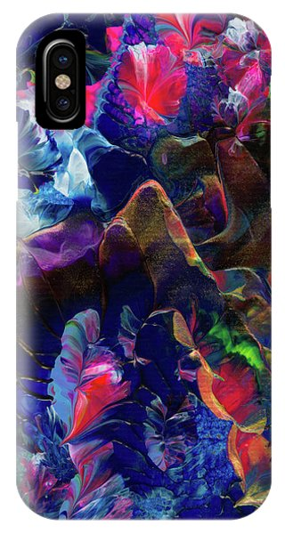 Butterfly Mountain IPhone Case