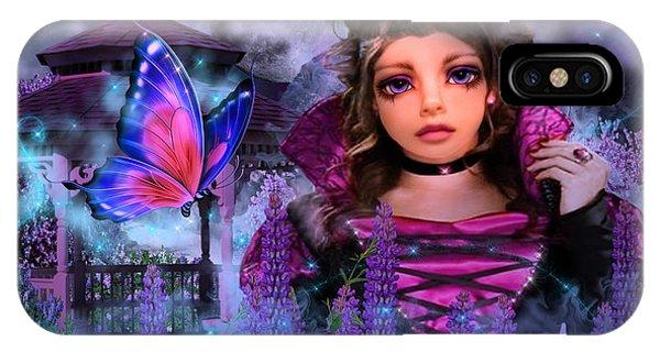 Butterfly Queen IPhone Case