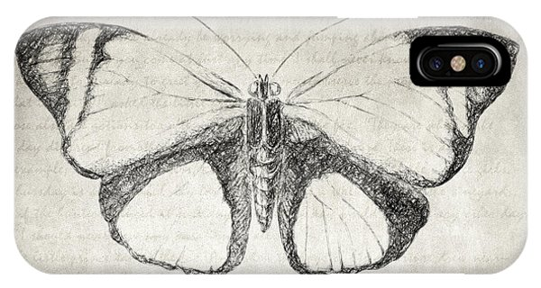 Butterfly Quote - The Little Prince IPhone Case