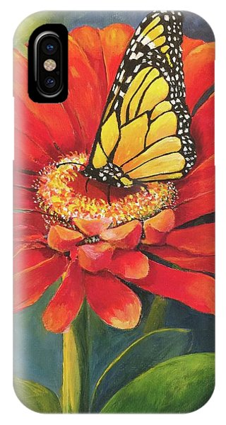 Butterfly Rest IPhone Case