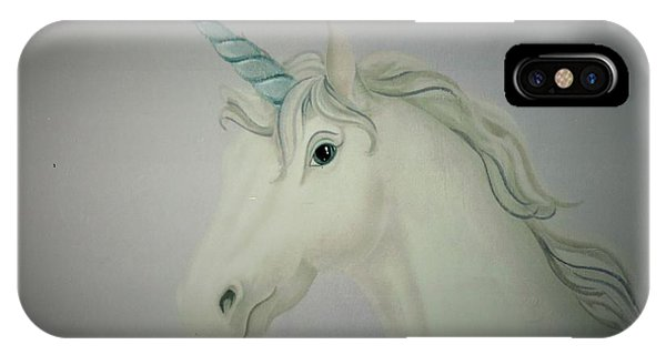 Butterfly Resting On Unicorn IPhone Case