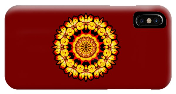Butterfly Sun IPhone Case
