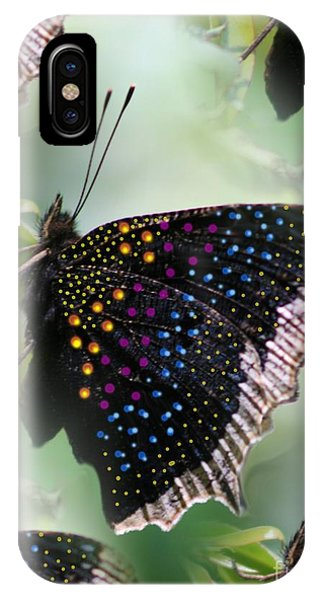 Butterfly Sunbath #2 IPhone Case