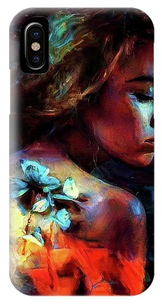 Gothic iPhone Case -  Butterfly Thirst by G Berry
