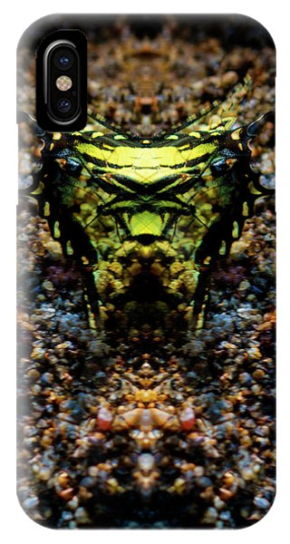 Butterfly Tiger IPhone Case