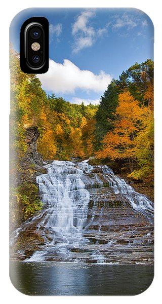 Buttermilk Falls 2 IPhone Case
