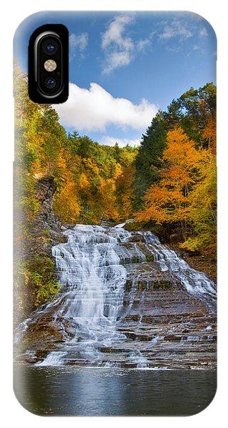Buttermilk Falls 2 IPhone Case