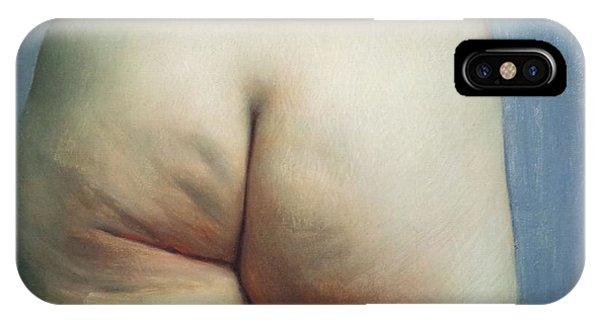 Buttocks And Left Hand On Hip IPhone Case