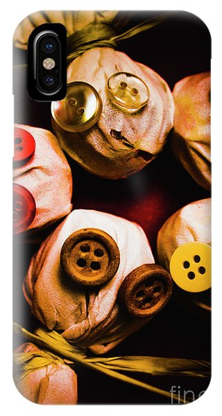 Button Sack Lollypop Monsters IPhone Case