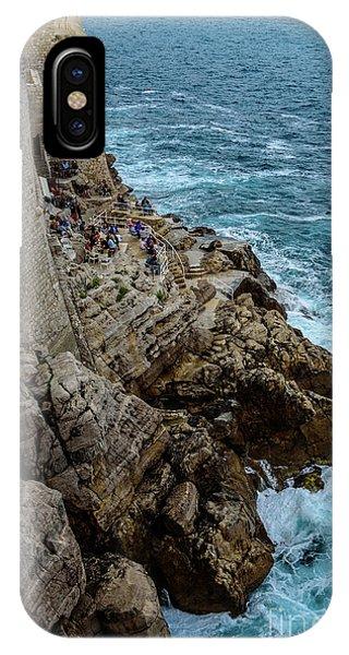 Buza Bar On The Adriatic In Dubrovnik Croatia IPhone Case