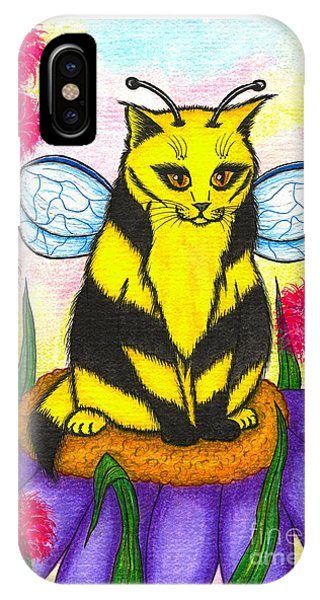 Buzz Bumble Bee Fairy Cat IPhone Case