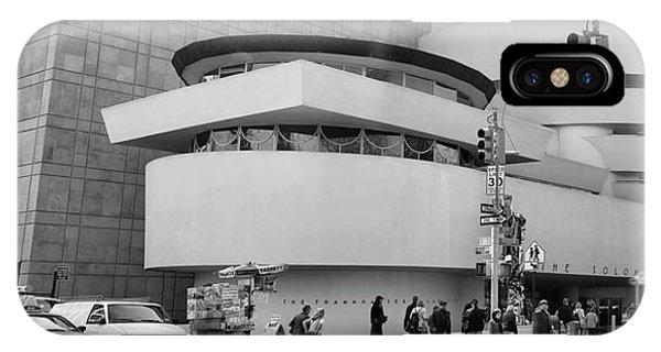 Bw Guggenheim Museum Nyc  IPhone Case