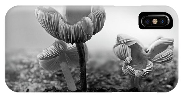 Bw Mushroom - 365- 232 IPhone Case