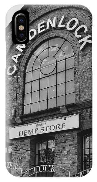 Bw Series Camden Lock Market IPhone Case