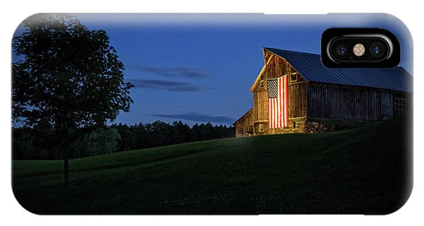Old Glory By Dusks Early Light IPhone Case