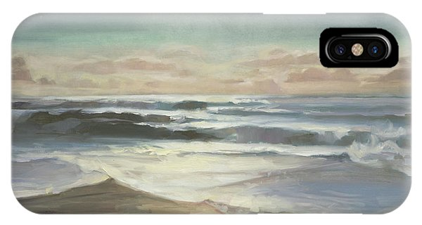 Pacific Ocean iPhone Case - By Moonlight by Steve Henderson