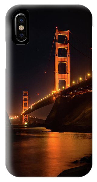 By The Golden Gate IPhone Case