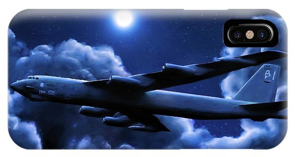 By The Light Of The Blue Moon IPhone Case