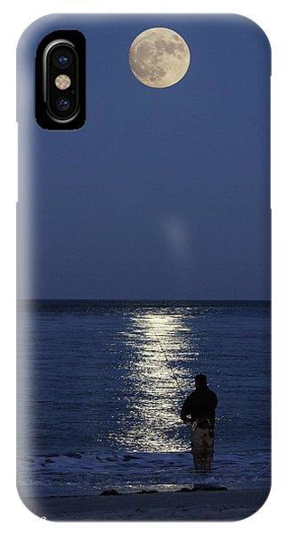 By The Light Of The Supermoon IPhone Case