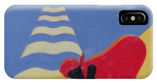 Sunny iPhone Case - By The Sea Shore by Tilly Willis