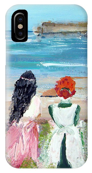 By The Shores By Colleen Ranney IPhone Case