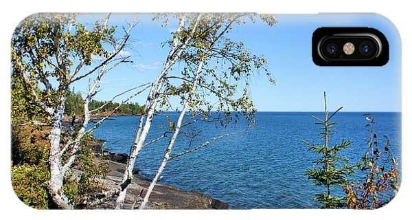 Lake Superior iPhone Case - By The Shores Of Gitche Gumee by Kristin Elmquist